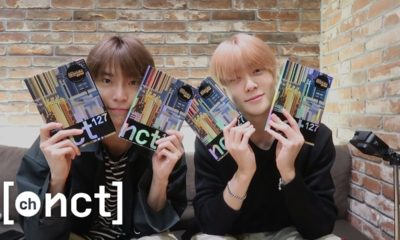 NCT Doyoung Jaehyun unboxing We Are Superhuman