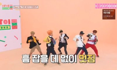 The Boyz Idol Room Boy With Luv BTS