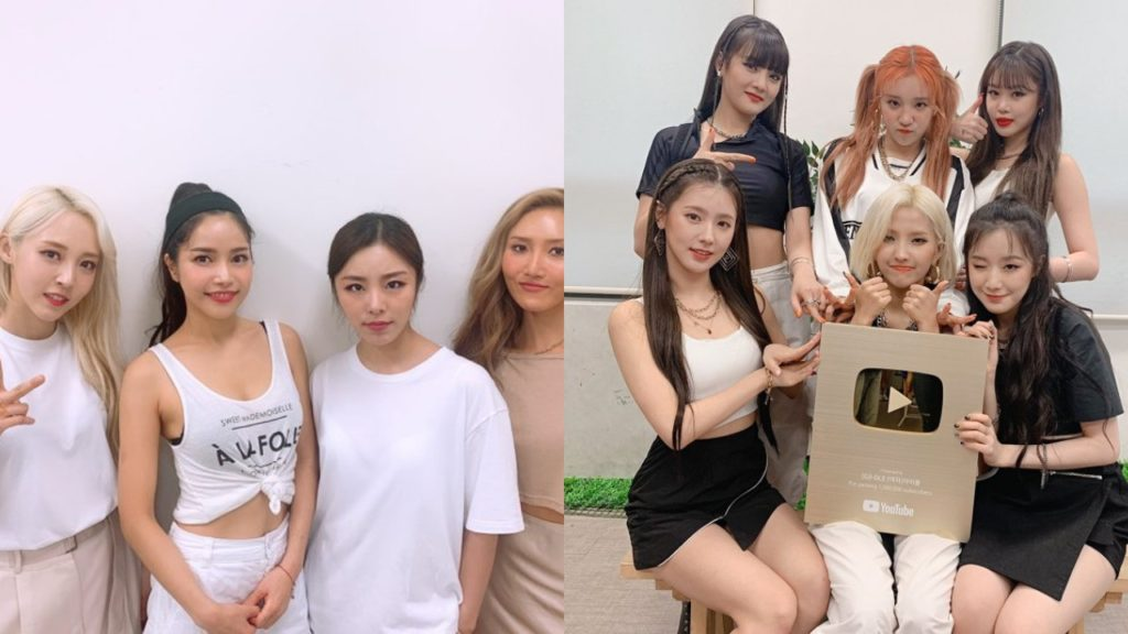 MAMAMOO (G) I-DLE Mnet Queendom