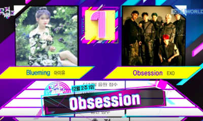 Music Bank EXO Obsession KBS