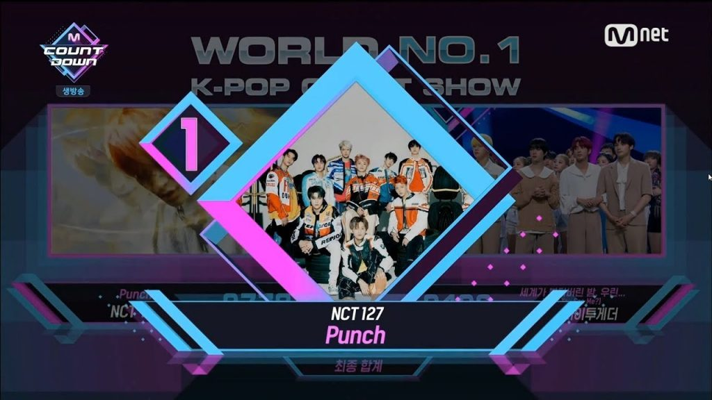 M Countdown Punch NCT 127