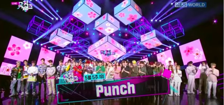 NCT 127 Punch Music Bank