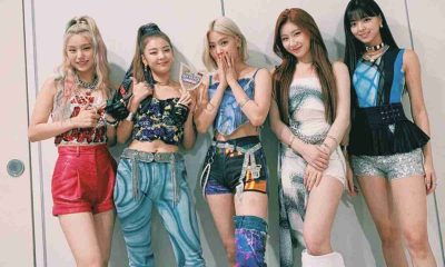 ITZY Music Bank Not Shy