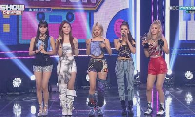 ITZY Not Shy Show Champion